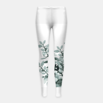 Thumbnail image of Eucalyptus Leaves Green Vibes #1 #foliage #decor #art  Kinder-Leggins, Live Heroes