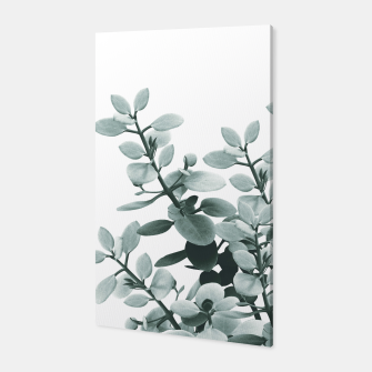 Thumbnail image of Eucalyptus Leaves Green Vibes #1 #foliage #decor #art  Canvas, Live Heroes