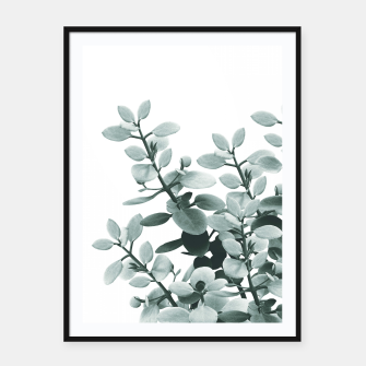 Thumbnail image of Eucalyptus Leaves Green Vibes #1 #foliage #decor #art  Plakat mit rahmen, Live Heroes