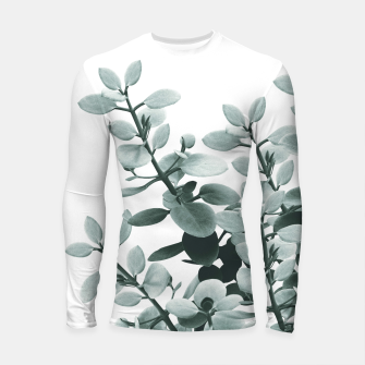 Thumbnail image of Eucalyptus Leaves Green Vibes #1 #foliage #decor #art  Longsleeve rashguard, Live Heroes