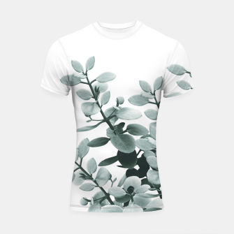 Thumbnail image of Eucalyptus Leaves Green Vibes #1 #foliage #decor #art  Shortsleeve rashguard, Live Heroes