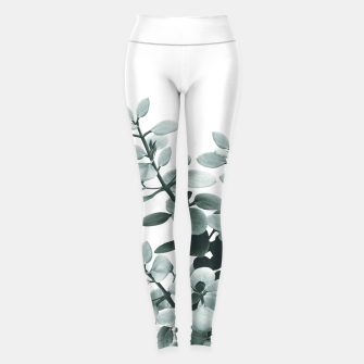 Thumbnail image of Eucalyptus Leaves Green Vibes #1 #foliage #decor #art  Leggings, Live Heroes
