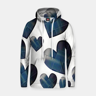 Thumbnail image of Silver hearts-White Sudadera con capucha, Live Heroes