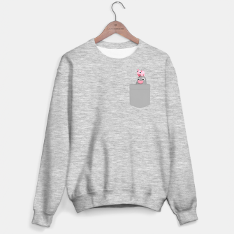 Thumbnail image of Lars&Rosa Pocket Sweater regular, Live Heroes