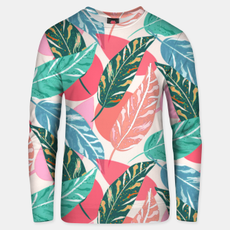 Thumbnail image of Painted Leaves Unisex sweater, Live Heroes