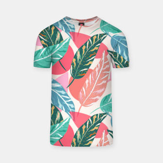 Thumbnail image of Painted Leaves T-shirt, Live Heroes
