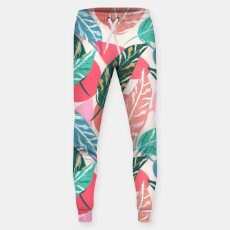 Thumbnail image of Painted Leaves Sweatpants, Live Heroes