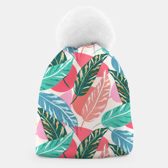 Thumbnail image of Painted Leaves Beanie, Live Heroes