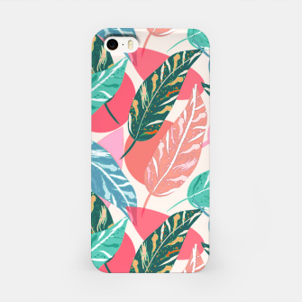 Thumbnail image of Painted Leaves iPhone Case, Live Heroes