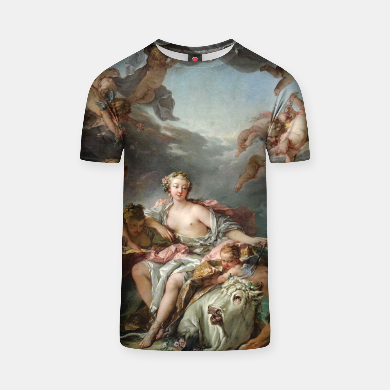 Zdjęcie The Rape of Europa by François Boucher T-shirt - Live Heroes