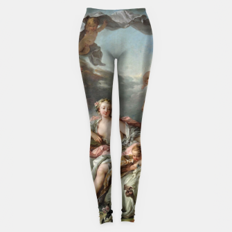 Miniaturka The Rape of Europa by François Boucher Leggings, Live Heroes