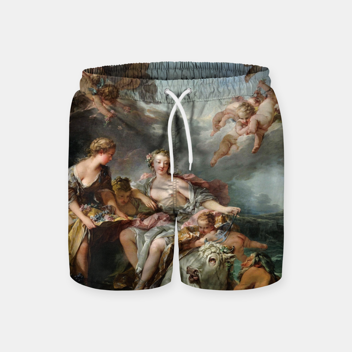 Zdjęcie The Rape of Europa by François Boucher Swim Shorts - Live Heroes