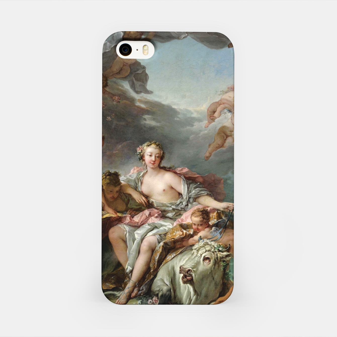 Zdjęcie The Rape of Europa by François Boucher iPhone Case - Live Heroes