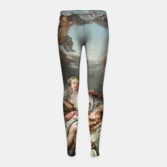 Thumbnail image of The Rape of Europa by François Boucher Girl's leggings, Live Heroes