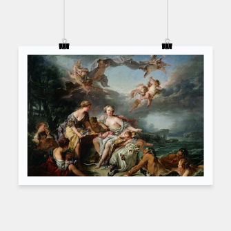 The Rape of Europa by François Boucher Poster obraz miniatury