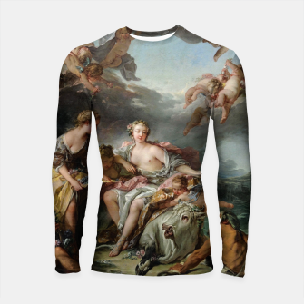 The Rape of Europa by François Boucher Longsleeve rashguard  obraz miniatury