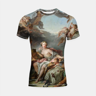 The Rape of Europa by François Boucher Shortsleeve rashguard obraz miniatury