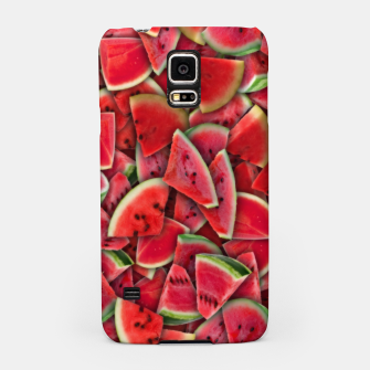 Thumbnail image of Ripe juicy watermelon Samsung Case, Live Heroes