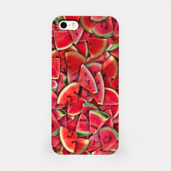 Miniature de image de Ripe juicy watermelon iPhone Case, Live Heroes