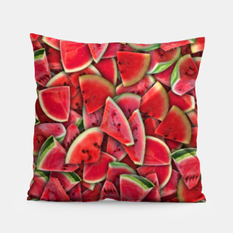 Thumbnail image of Ripe juicy watermelon Pillow, Live Heroes