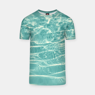 Thumbnail image of Turquoise Ocean Dream #1 #water #decor #art  T-Shirt, Live Heroes