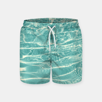Thumbnail image of Turquoise Ocean Dream #1 #water #decor #art  Badeshorts, Live Heroes