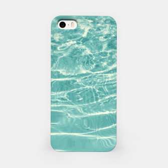 Thumbnail image of Turquoise Ocean Dream #1 #water #decor #art  iPhone-Hülle, Live Heroes
