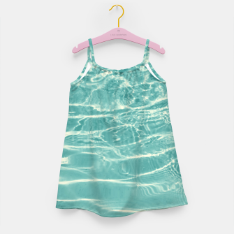 Miniaturka Turquoise Ocean Dream #1 #water #decor #art  Mädchenkleid, Live Heroes