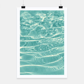 Thumbnail image of Turquoise Ocean Dream #1 #water #decor #art  Plakat, Live Heroes