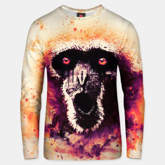 Thumbnail image of monkey 2 wslsh Unisex sweater, Live Heroes