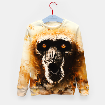 Thumbnail image of monkey 2 wsstd Kid's sweater, Live Heroes