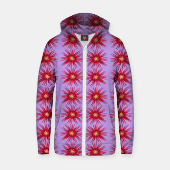 Thumbnail image of Flowers  Sudadera con capucha y cremallera , Live Heroes