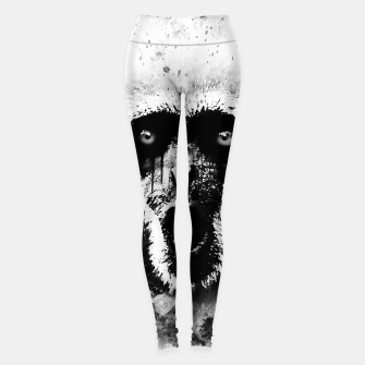Thumbnail image of monkey 2 wsbw Leggings, Live Heroes