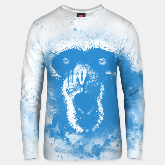 Thumbnail image of monkey 2 wswb Unisex sweater, Live Heroes