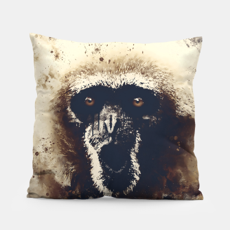 Thumbnail image of monkey 2 wsfn Pillow, Live Heroes