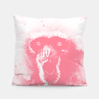 Thumbnail image of monkey 2 wspw Pillow, Live Heroes
