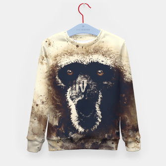 Thumbnail image of monkey 2 wsfn Kid's sweater, Live Heroes