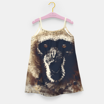 Thumbnail image of monkey 2 wsfn Girl's dress, Live Heroes