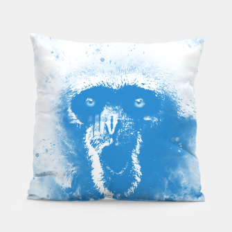 Thumbnail image of monkey 2 wswb Pillow, Live Heroes