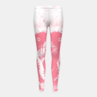Thumbnail image of monkey 2 wspw Girl's leggings, Live Heroes