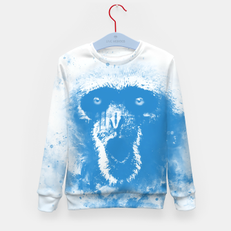 Thumbnail image of monkey 2 wswb Kid's sweater, Live Heroes