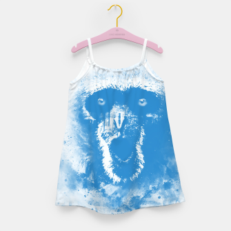 Thumbnail image of monkey 2 wswb Girl's dress, Live Heroes