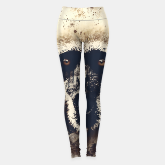 Thumbnail image of monkey 2 wsfn Leggings, Live Heroes