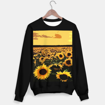SunFlowers Sudadera regular thumbnail image