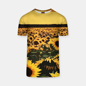SunFlowers Camiseta thumbnail image