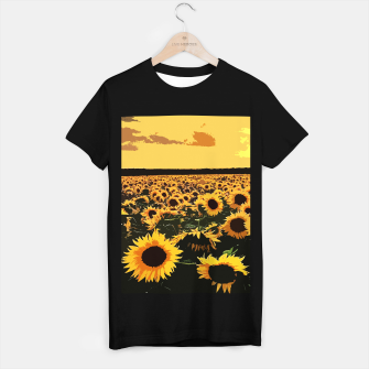 SunFlowers Camiseta Regular thumbnail image
