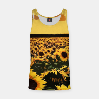 Thumbnail image of SunFlowers Camiseta de tirantes, Live Heroes