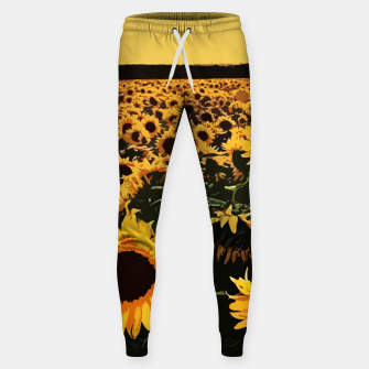 Thumbnail image of SunFlowers Pantalones de chándal , Live Heroes