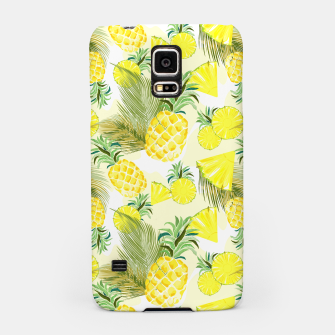 Pineapple Watercolor Fresh Summer Fruit Samsung Case thumbnail image