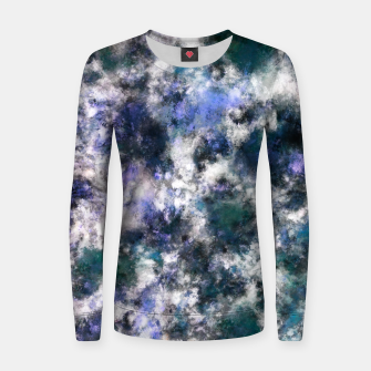 Thumbnail image of The silent blue decay Women sweater, Live Heroes